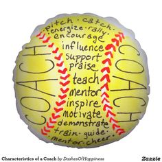 Characteristics of a Coach Round Pillow