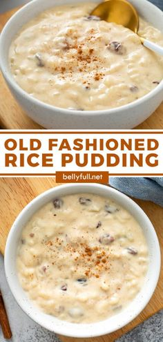 A bowl of rich, creamy Rice Pudding is like a big hug from your Grandma on a cold and dreary day. It's a classic comfort dessert that is not overly sweet, with hints of cinnamon and studded with plump raisins, and can be enjoyed warm or cold. And chances are, everything you need to make it right now is already in your pantry. It's so easy!