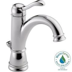 Delta Porter Single Hole Single-Handle High Arc Bathroom Faucet in Chrome-15984LF - The Home Depot