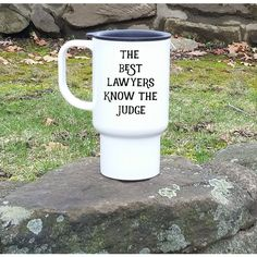 Gifts for Lawyers Funny Lawyer Travel Coffee Mug Gift the Best Lawyers... ($17) ❤ liked on Polyvore featuring home, kitchen & dining, drinkware, drink & barware, grey, home & living, mugs, grey mugs, plastic coffee mugs and holiday mugs