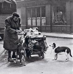Patrice Molinard - Paris - v. 1954 - [photos to illustrate Jean-Paul Clébert's 'Paris Insolite']