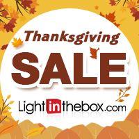 DESCONTOS Incríveis! A LightInTheBox está promovendo uma grande promoção. São itens de primeira linha em oferta, moda maravilhosa, Recompensas e muito mais. Espalhe a notícia e poupe muito.