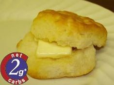 Carbquik Recipe: Cut Buttermilk Biscuits --- yes two carbs per biscuit Servings: 16 Net Carbs Per Serving: Total Preparation Time: 15 minutes Ingredients: 2 cups Carbquik™ cup (Paleo Pancakes Buttermilk) Low Carb Biscuit, Low Carb Bread, Keto Bread, Low Carb Keto, Diabetic Recipes, Low Carb Recipes, Cooking Recipes, Diabetic Desserts, Healthy Recipes