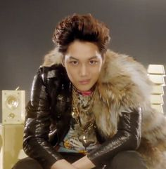 """Kai (카이) of EXO-K participating in SME's subgroup Younique to promote PYL Hyundai Cars with the M/V """"Maxstep""""."""