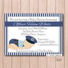 Customized chalkboard butterfly bee valentine baby girl baby policeman baby shower invitation filmwisefo