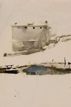 Andrew Wyeth, 'Farm Pond'
