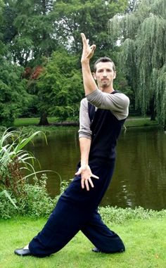 """""""How clear under the trees, / How softly the music flows, / Rippling from one still pool to another / Into the lake of silence."""" -{-Aldous Huxley, """"A Melody by Scarlatti"""" (photo of Baguazhang, Haarlem Netherlands)}"""