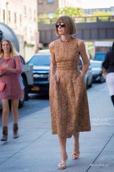 Иконы моды —  стиль главного редактора Vogue Анны Винтур