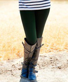 Look what I found on #zulily! Forest Fleece Leggings - Women & Plus #zulilyfinds
