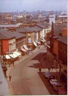 A view of Grange Road, showing the river in the distance. Liverpool City Centre, Liverpool Town, Liverpool Docks, Liverpool England, Haunted Objects, Salford, Local History, Back In Time, Nice View
