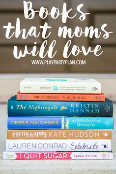 These 10 book recommendations make great Mother's Day gift ideas! Perfect for a mother, mother-in-law gift, or even a friend who just needs a little boost!