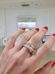 2 tone 18ct  Diamond Dress Ring by Kalfin Jewellery... #kalfinjewelery #diamonds #diamondressring #rings #diamondring #weddinband #engagementring #diamondjewellery #fashionblogger #picoftheday #bestphoto #stylemepretty #style #detail #designerjewellery #design #melbournejewellers #cbdjewellers #weddingband #gentsring #diamond #custommade #handmade #custommadejewellery #blingbling #jewellers #love #beautiful