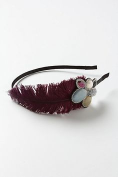 Hair Accessories for Women Hair Accessories For Women, Diy Accessories, Feather Headband, Hair Beads, Hair Designs, Fancy, My Style, Anthropologie, How To Make
