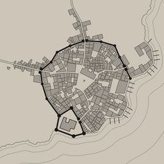 Medieval Fantasy City Generator by watabou Medieval World, Medieval Fantasy, City Generator, Fantasy City Map, Theatrical Scenery, Sims Medieval, Imaginary Maps, City Drawing, City Maps