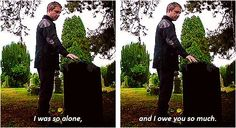 Sherlock. Wonderful acting here by Martin, at the beginning brilliant and once again at the end. How did Sherlock not let him know............sentiment!