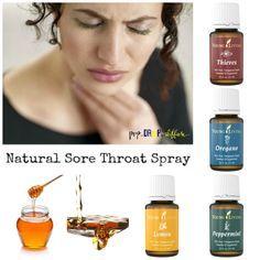 natural sore throat spray pin