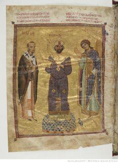 Jean Chrysostome, Homélies. Date d'édition : 1078-1081 Contributeur : Nicéphore Botaniate. Ancien possesseur Type : manuscrit Langue : Grec