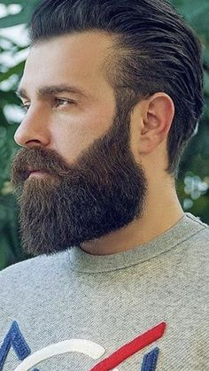 Walrus Mustache, Moustache, Beard No Mustache, Mens Hairstyles With Beard, Haircuts For Men, Beard Styles For Men, Hair And Beard Styles, Beard Pictures, Beard Trend