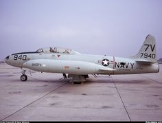 T33 Trainer Aircraft built from the P-80 Shooting Star