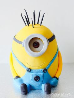 Stuart - Der Minion (3D-Motivtorte)