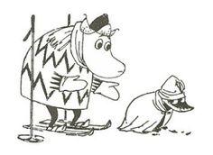Muumittajan Muumi-blogi: Hemuli, Surku ja Salome Tove Jansson, Christmas Illustration, Cross Stitch Designs, Diy Painting, Painting Inspiration, All Art, Illustrators, Fairy Tales, Troll