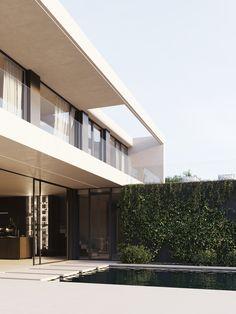 modern house Sweden, Indoor Outdoor, Villa, Stairs, Interior Design, Modern, House, Home Decor, Nest Design