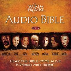 "Another must-listen from my #AudibleApp: ""The Word of Promise Audio Bible New Testament NKJV"" by Thomas Nelson, narrated by Jim Caviezel."