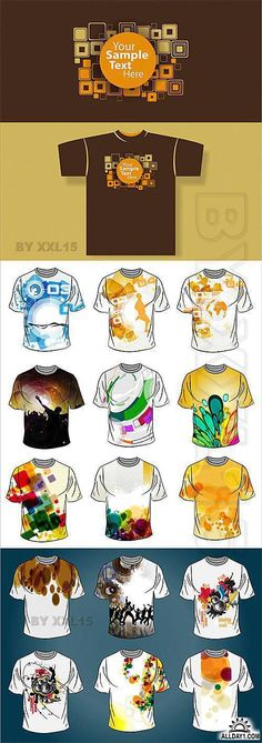 T-shirt abstract design