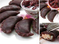 Любимые вареники с творогом с новым вкусом - шоколадным!!! Просто, вкусно, и в то же время очень необычно и изысканно! Такие вареники бу...