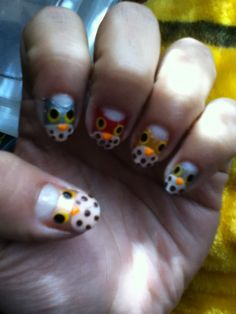 How to Create Cute Owl Nails