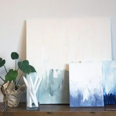 DIY - Make beautiful and minimalist art to the wall with this video tutorial. #grenediy