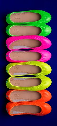 Explore Tieks Neon Collection—lighting up the Boutiek this summer, while supplies last.