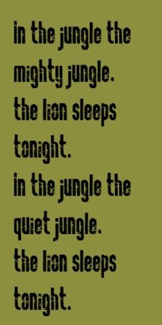 Paper Lace - The Lion Sleeps Tonight - song lyrics, songs, music lyrics, song quotes,music quotes