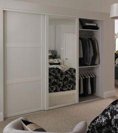 Shaker Sliding Wardrobe Doors shaker panel amp mirror door white sliding wardrobe doors doors