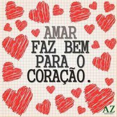 Amar faz bem para o coração ♥ #amor #felicidade #romance