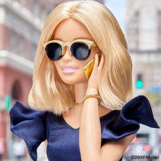 Style tip: complement a statement sleeve with sleek and chic accessories. #barbie #barbiestyle