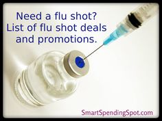 list of places to find a flu shot