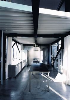 Steel Panel House by Kenji Ido #architecture #metal