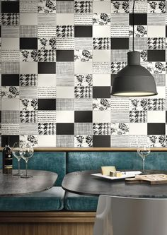 Double-fired ceramic wall tiles KIKO by Cooperativa Ceramica d'Imola