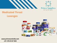 These cough drops naturally calm coughs and relieve sore throat pain. Sensation of cough is a natural reflex, which helps to protect the body from infections.  #healthcare www.princecareindia.com Throat Pain, Sore Throat, Throat Lozenge, Gone For Good, Letting Go, Health Care, Calm, Medical, Personal Care