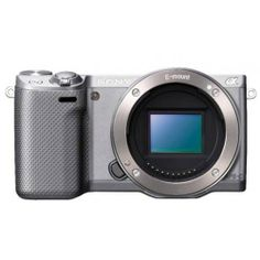 Sony Alpha NEX-5R Mirrorless Digital Camera - Silver (Body Only)