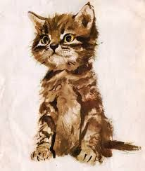 Illustration by Janusz Grabiański. and like OMG! get some yourself some pawtastic adorable cat shirts, cat socks, and other cat apparel by tapping the pin