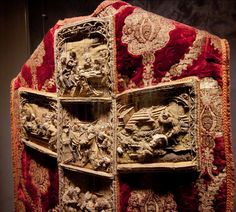 A cope made in Poland in the 16th century, part of a tradition of 'storytelling' vestments.