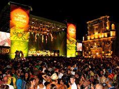 Salento Taranta folk festival - Melpignano Lecce Italy