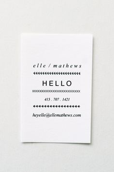 Instant download hello diy printable business card pinterest letterpress thank you cards pack of 4 reheart Image collections