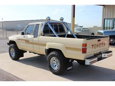 1986 Toyota Pickup for sale in Fort Worth, Texas Toyota Pickup For Sale, Toyota Trucks For Sale, Toyota 4x4, Toyota Hilux, Trucks Only, Cool Trucks, Pickup Trucks, Classic Trucks, Classic Cars