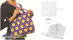 Sacs et pochettes au crochet : modèles et grilles à imprimer  !