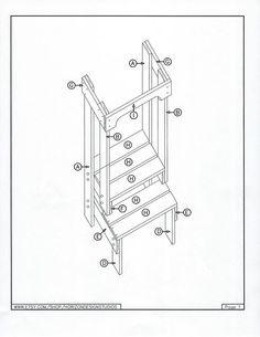 Toddler Step Stool Tot Tower Adjustable Step Stool