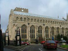 Bury St. Edmunds: St. Mary's Church