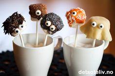 Halloween Marshmallow Pops | Det søte liv